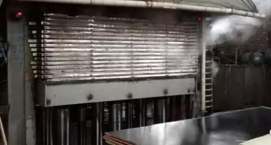 胶合板热压时易产生的问题及解决方法